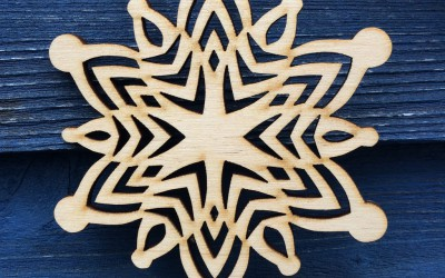 Star snowflake design.