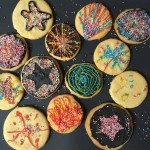 Fireworks cookies in the sky.