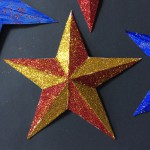 Get creative and decorate your stars however you wish.