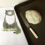 Salt dough and a picture of Mog. Let's get started.