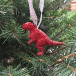 Glitter Dinosaur Decorations