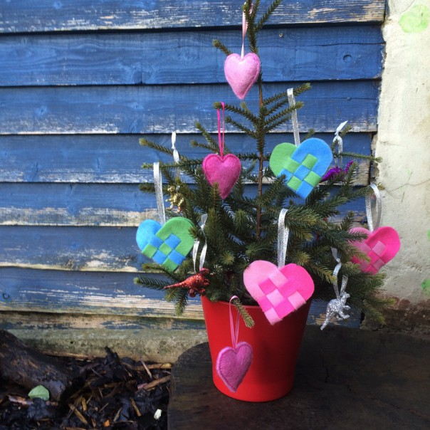 Our Valentine tree.