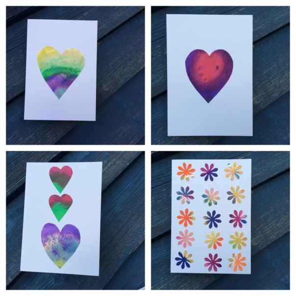 Our Valentine's and thank you cards.
