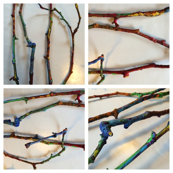 Finished branches.