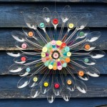 Plastic Spoon Art
