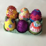 Our decorated eggs.