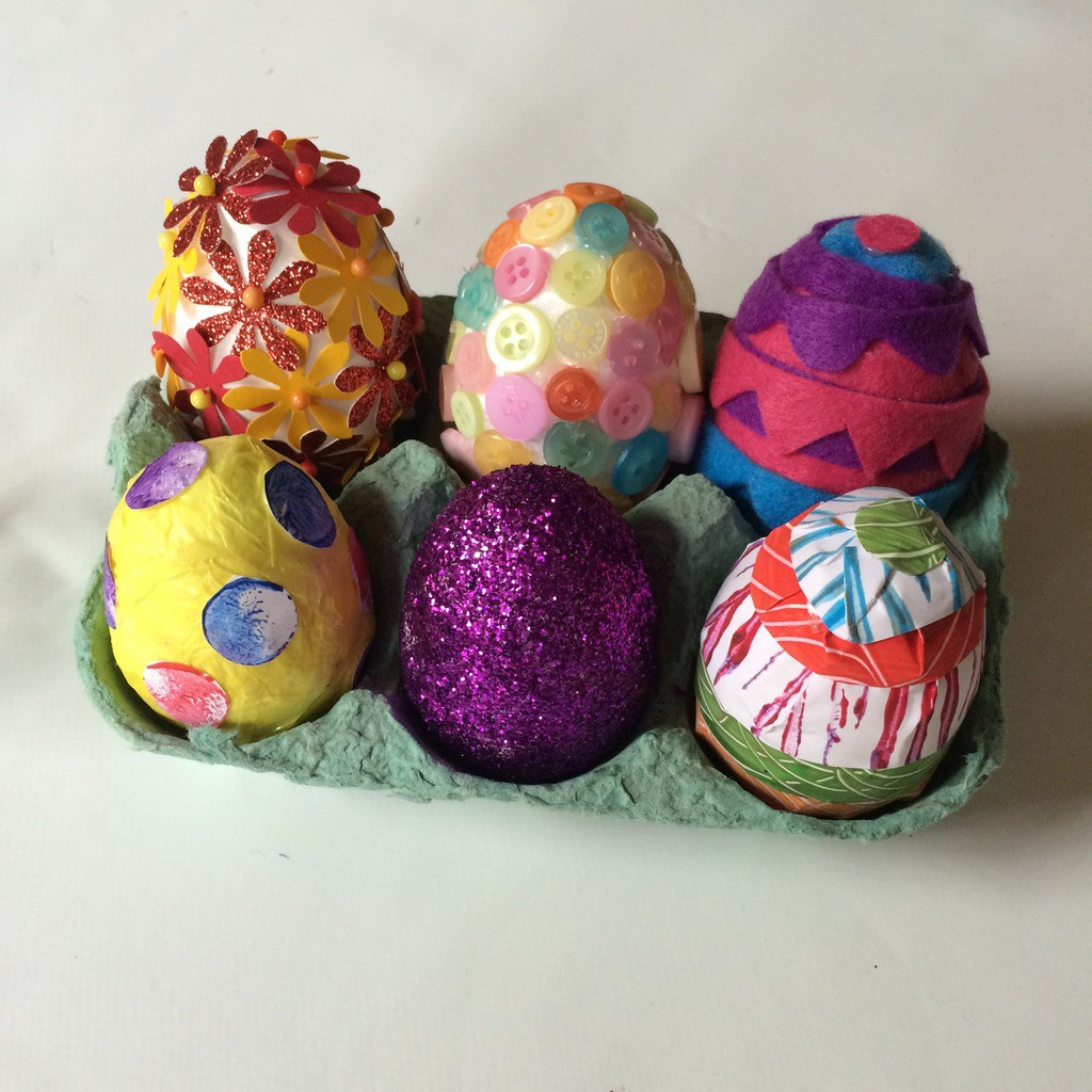 Decorated Eggs Colourful Minds