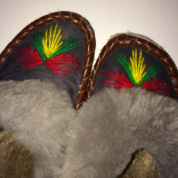 Inspiration: my comfy slippers!