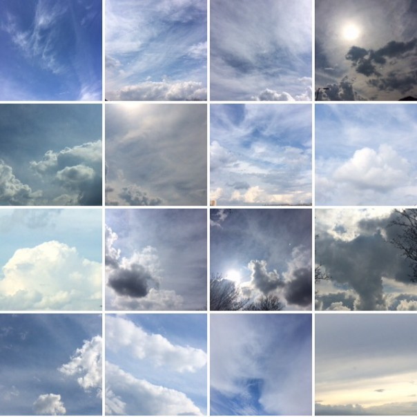 Cloud collection.