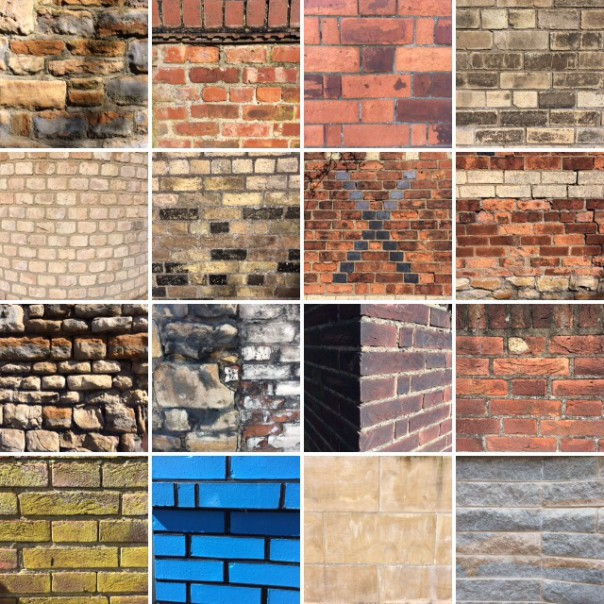Bricks collection.