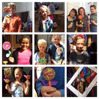 Woven yarn flower workshops: Saturday and Sunday 2pm - 4pm