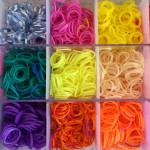 Update May 2016: Try using loom bands instead of yarn.