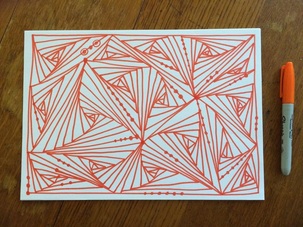 Optical Illusion Drawing
