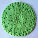 Homemade Play Dough Mandalas