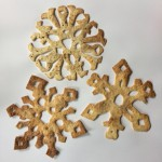 Cinnamon snowflakes.