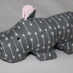 Harry the Hippo by The Embroiderist.