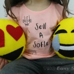 Easy Sewing for Beginners Emoji Softies.